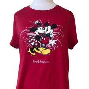 WALT DISNEY WORLD RESORT Mickey & Minnie Mouse Tee